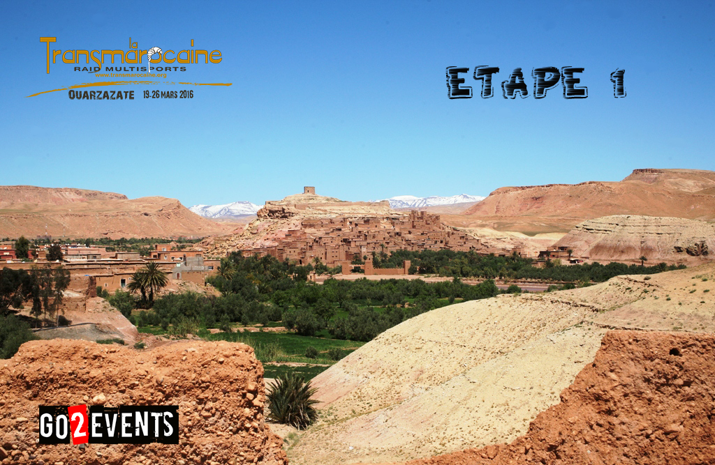 Transmarocaine 2016 - étape 1 - GO2EVENTS