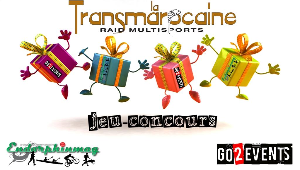 Jeu concours Transmarocaine - GO2EVENTS