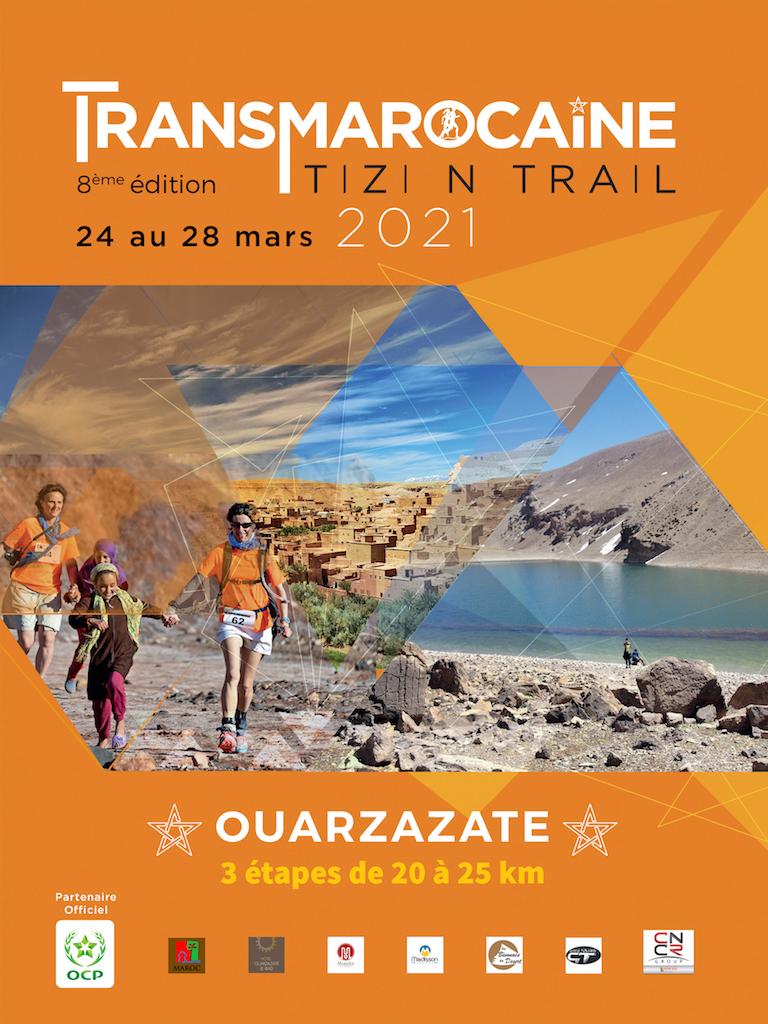 Flyer TIZI N'TRAIL 2021- 8ème édition - GO2EVENTS