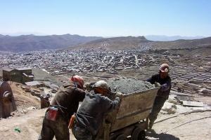 mines d'argent POTOSI